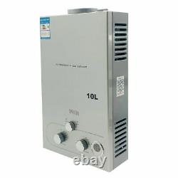12L 3.2 GPM LPG Propane Gas Tankless Hot Water Heater with Shower Kit