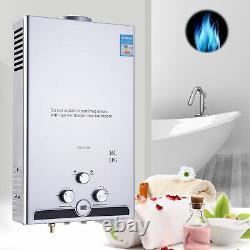 16L 32KW Gas LPG Propane Tankless Instant Hot Water Heater Boiler LED UK
