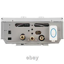 16L Hot Water Heater Gas LPG Propane Tankless Instant Boiler 4.3GPM Shower Kit