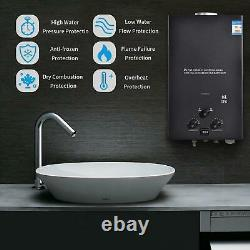 16L LPG Tankless Gas Hot Water Heater Camping Instant Propane Water Heater UK