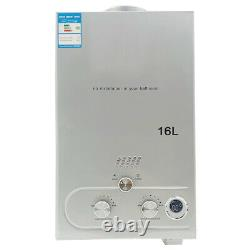 16L Propane Gas LPG Tankless Instant Hot Water Heater with Shower Kit 32KW