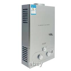 18L 36KW Hot Water Heater Natural Gas Tankless Instant with Shower Kit