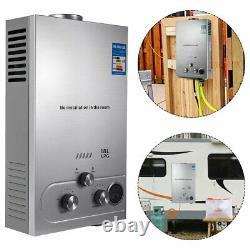 18L 36kw Instant Hot Water Heater Tankless Gas Boiler LPG Propane Stainless UK