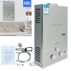 18L Instant Hot Water Tankless Shower Heater 36KW for Caravan Camping Outdoor RV