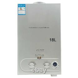 18L Propane Gas Water Heater Tankless Instant Hot Water Heater with Shower Kit