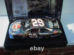 2011 Kevin Harvick Rheem Tankless Water Heaters White Gold Elite signed! #10/24