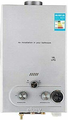 220v 16L-LPG Electric Tankless Instant Hot Water Heater For Kitchen Shower Use