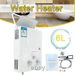 6L LPG Propane Instant Water Heater Gas Tankless Boiler Camping Water Heater UK