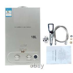8/10/12/16/18L Propane LPG Gas Portable Tankless Water Heater Instant Boiler