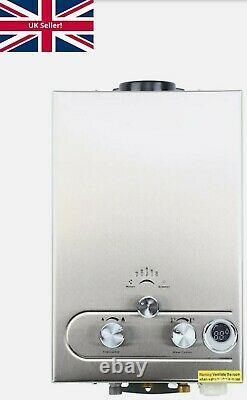 8L 16kw Instant Hot Water Heater Gas Boiler Tankless LPG Propane