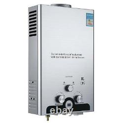 8L 16kw Instant Hot Water Heater Tankless Gas Boiler LPG Propane