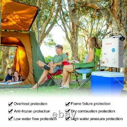 Camplux 5L 10kw Hot Water Heater Gas Tankless Boiler LPG Propane Outdoor Camping