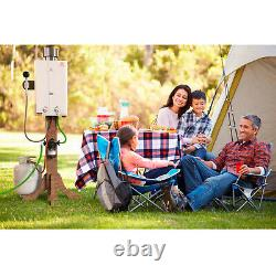 Eccotemp L10 Portable Outdoor 3.0 GPM Propane Powered Tankless Hot Water Heater