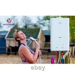 Eccotemp L10 Portable Propane Gas Tankless Water Heater 2.65 GPM Outdoor Camping