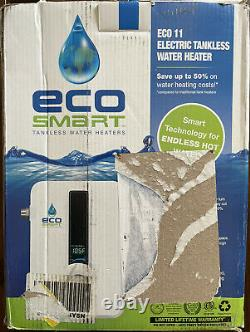 EcoSmart ECO 11 Tankless Electric Water Heater 13 kW 240-V
