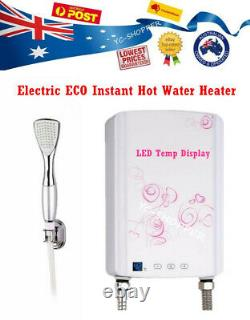 Electric Instant Hot Water Tankless Shower Heater Caravan, Granny Flat