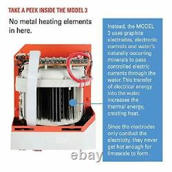 Electric Tankless Smart Water Heater, the worlds only water heater without met