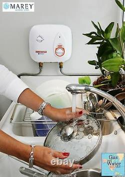Electric Tankless Water Heater 8.8 KW 220V 2GPM Instant On-demand REFPP220 Marey