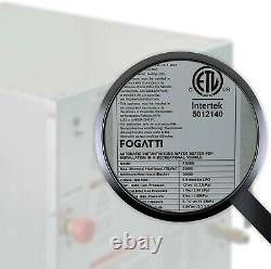 FOGATTI RV Tankless Water Heater 12V On-Demand Camper Water Heater