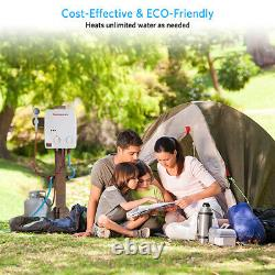 Gas Instant Hot Water Heater Tankless LPG Propane 5L Boiler Camping RV Outdoor