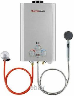 Gas Water Heater, Thermomate BE211S 8L Tankless Propane Water Heater