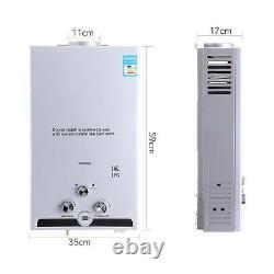 Hot Water Heater 16L 32kw Tankless LPG Propane Gas Boiler