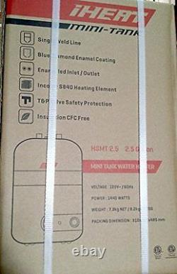 IHeat Electric Mini-Tank Water Heater HSMT2.5