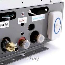 Instant Hot Water Heater 16L 32kw Tankless Gas Boiler LPG Propane