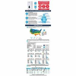 Marey ECO150 220 Volt Electrical Tankless Water Heater with SMART Technology