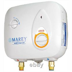 Marey Power 2.0 GPM 220 Volt Electric Tankless Water Heater Power Pak, White
