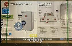NEW Rheem ECOH200DVLN Platinum 9.5 GPM Natural Gas Indoor Tankless Water Heater