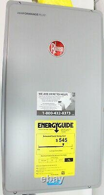 Rheem Performance Plus 7.0 GPM Liquid Propane Indoor Tankless Water Heater