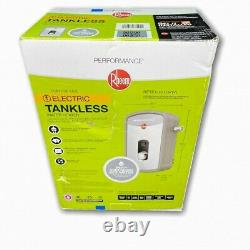 Rheem Performance Point-of-Use Electric Tankless Water Heater 1.97gpm RETEX-13