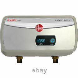 Rheem RTEX-04 Classic Point of Use Tankless Water Heater 3.5kW 120V 29A