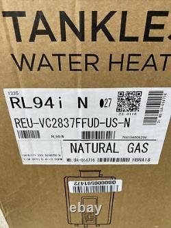 Rinnai RL94iN Tankless Water Heater Natural Gas REU-VC2837FFUD-US-N Q-32