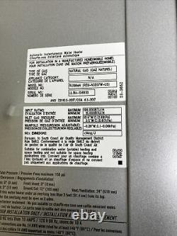 Rinnai RU199eN Tankless Water Heater REU-N3237W-US-N Natural Gas Q-23