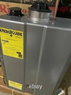 Rinnai RUR199iN High Effic. 11 GPM 199,000 BTU Natural Gas Tankless Water Heater
