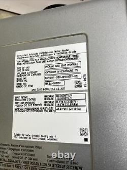 Rinnai RUR199iP Tankless Water Heater Propane Gas 199,000 BTU (Q-23)