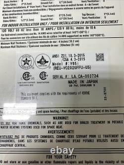 Rinnai V65iN Natural Gas Tankless Water Heater REU-VC2025FFU 150,000 BTU (Q-22)