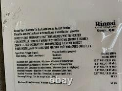 Rinnai V75i Propane GAS Tankless Water Heater Used (16)