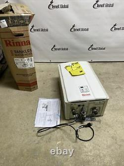 Rinnai V94iN Tankless Water Heater Natural Gas White Q-32
