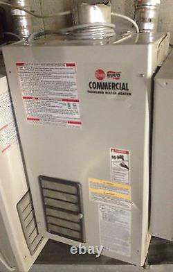 Rudd Commercial On-Demand Tankless Water Heater Natural Gas 199k btus