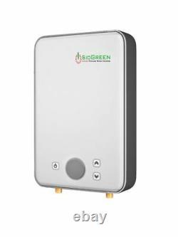 SioGreen Electric Water Heater Tankless IR30POU Best US Seller 110 Volt 1 GPM