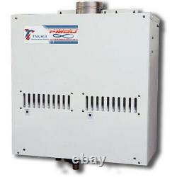 Takagi T-M50. The MONSTER Tankless water heater can heat SIX showers at once