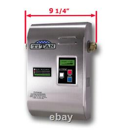 Titan N-160 water heater. Stainless Steel cover. Brand NEW. FAST SHIPPING