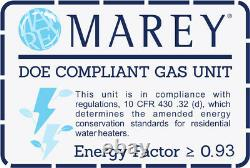 Water Heater Natural Gas Tankless Best Tiny House Marey GA5FNG 1.3 GPM On Demand