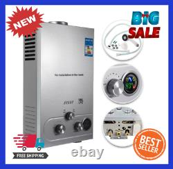 Water Heater Propane Gas LPG Tankless 6/8/10/12/16/18L 4.8GPM Stainless Steels